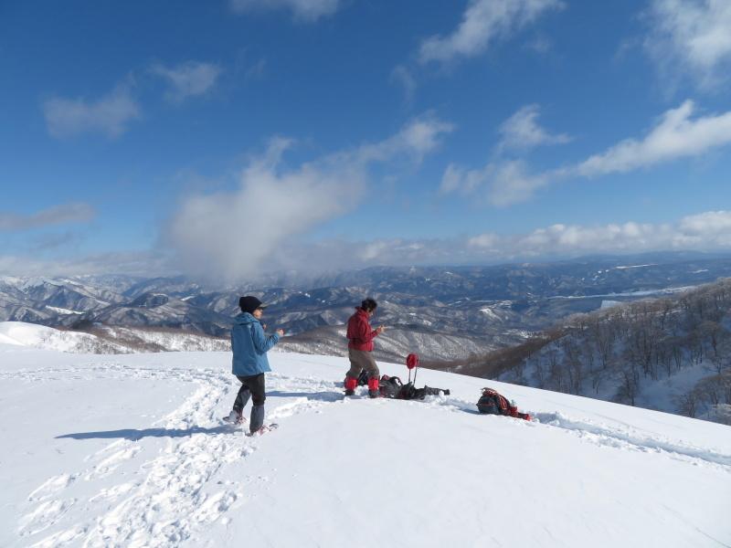 雪原が美しい 大日ケ岳 (1,708.9M)       登頂 編_d0170615_09194127.jpg