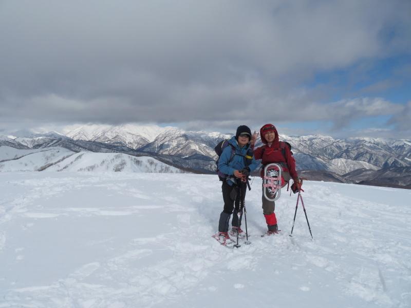 雪原が美しい 大日ケ岳 (1,708.9M)       登頂 編_d0170615_09200960.jpg