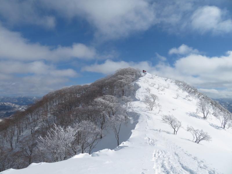 帰りも樹氷が美しかった 大日ケ岳 (1,708.9M)    下山 編_d0170615_19261358.jpg