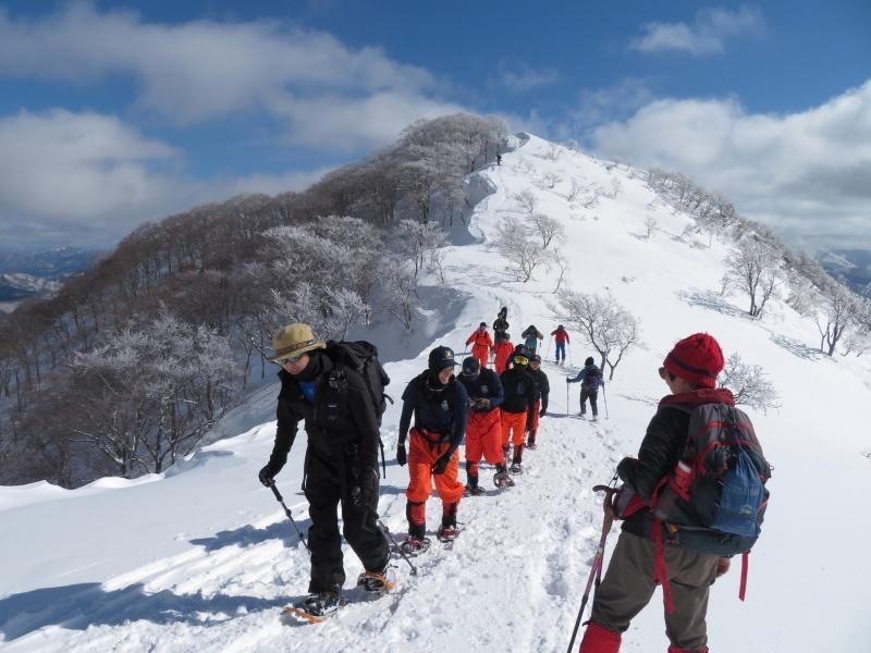 帰りも樹氷が美しかった 大日ケ岳 (1,708.9M)    下山 編_d0170615_19263562.jpg