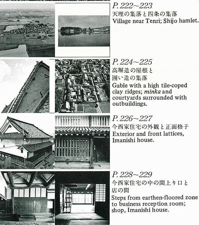 『日本の民家』新版(絶版)/ 近畿_c0189970_09384458.jpg
