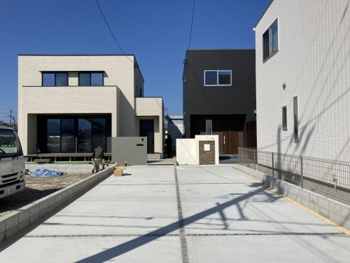 外構工事@東入部4・5号地_c0164996_18141853.jpg