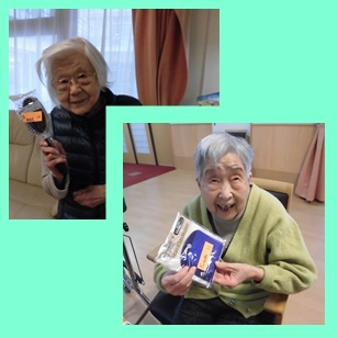 お楽しみ抽選会☆ショートステイ蜜柑_a0270404_19465773.jpg