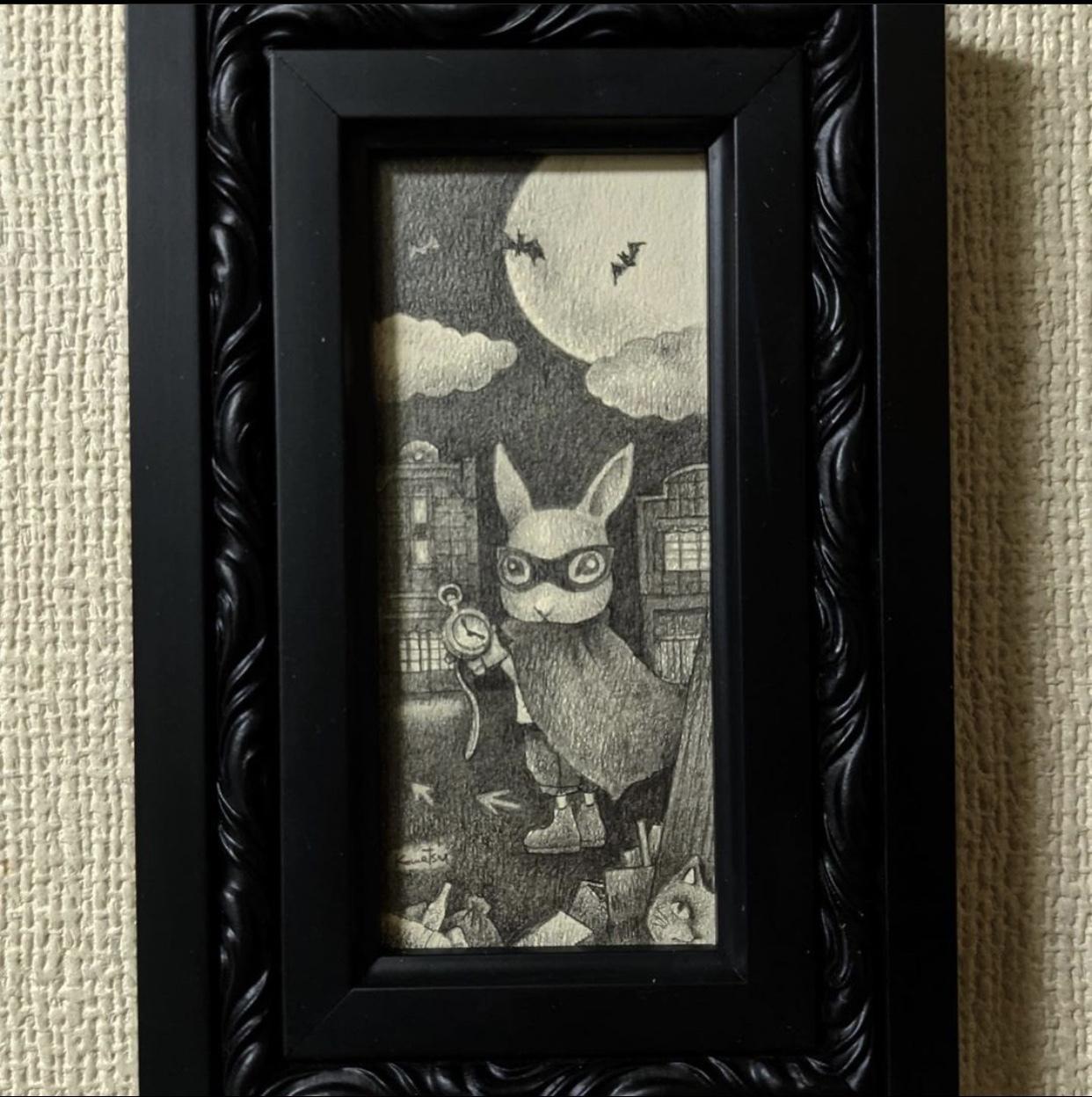 小平のカフェノルンさんに納品しました🌹&『月うさぎ2nd』は2/23(火)から🌜🐇_a0137727_22062118.jpeg