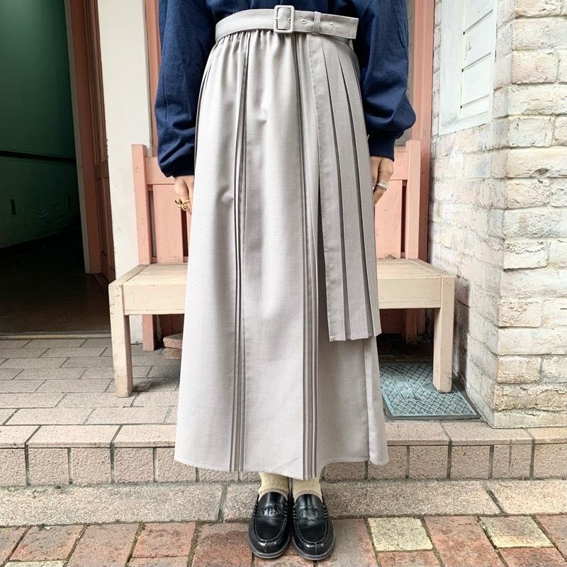 〔 fig London 〕chic apron skirt_a0389054_17415914.jpg