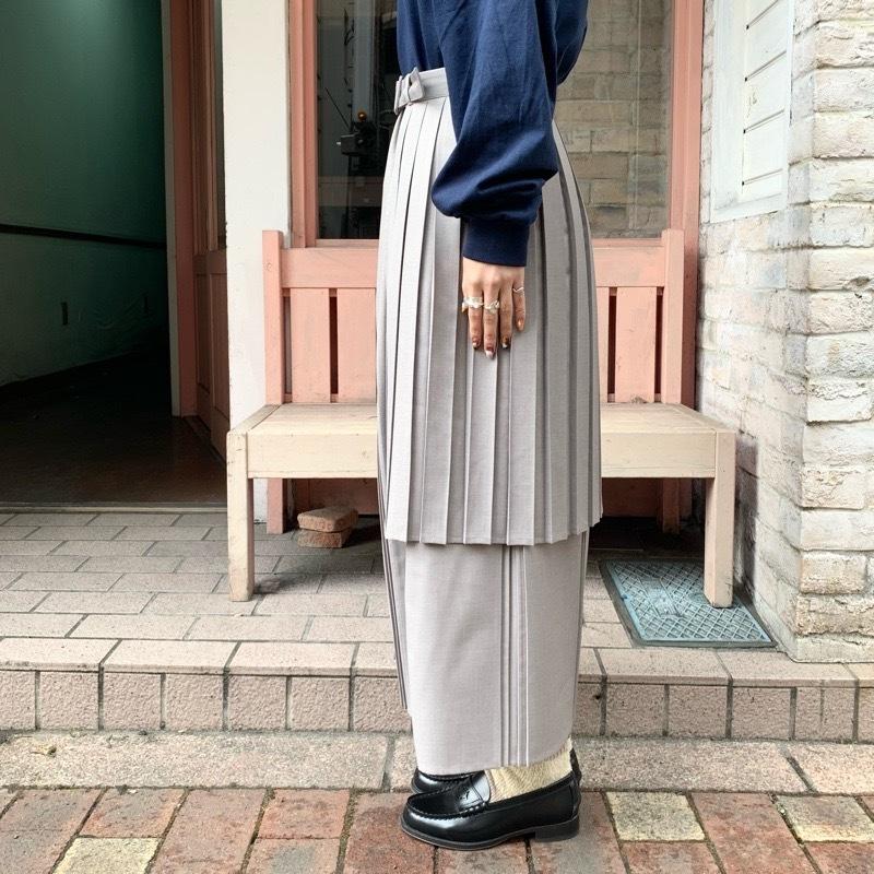 〔 fig London 〕chic apron skirt_a0389054_17422618.jpg