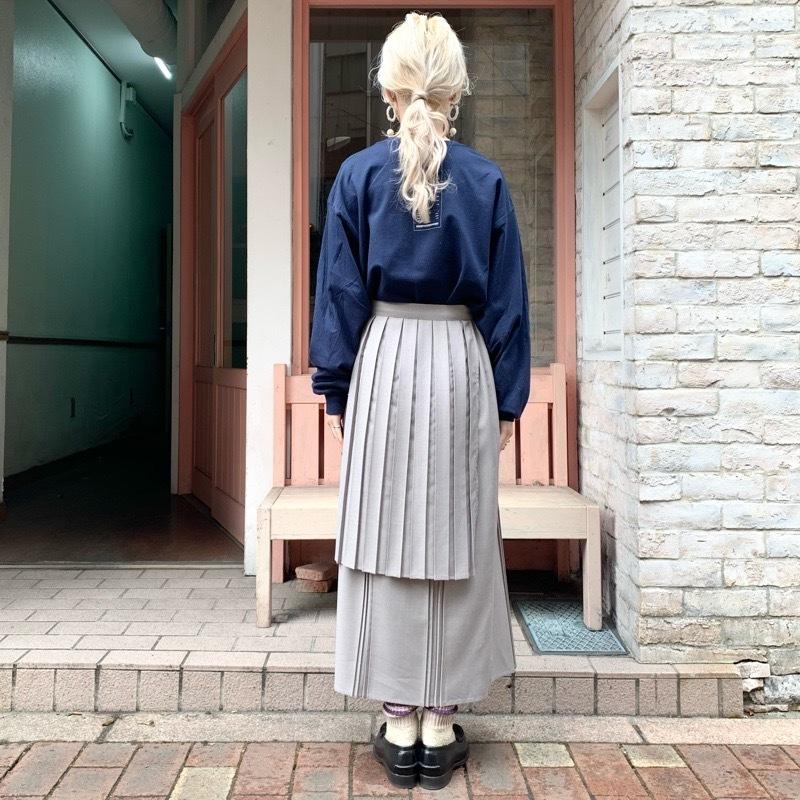 〔 fig London 〕chic apron skirt_a0389054_17444497.jpg