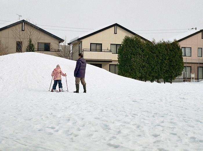 お父さんの役に立たないスキー指導_c0182775_11500484.jpg