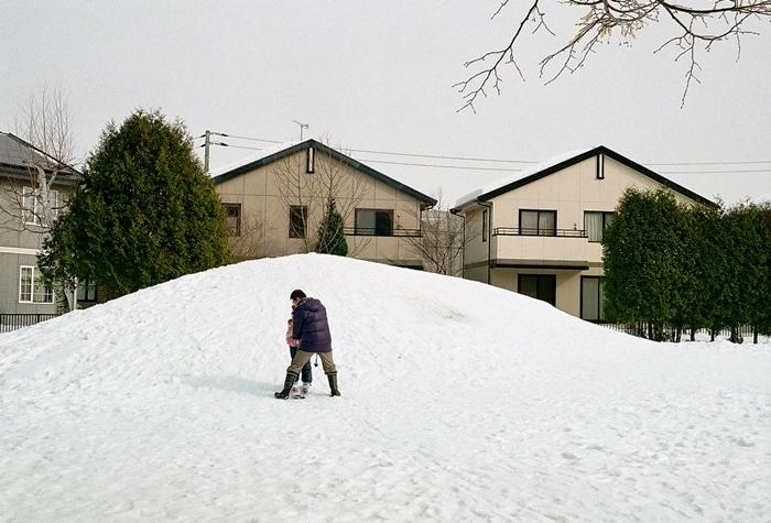 お父さんの役に立たないスキー指導_c0182775_11501634.jpg