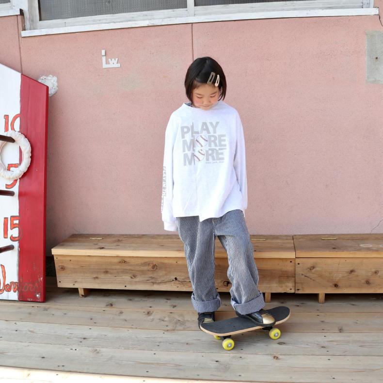 【THE PARK SHOP KIDS】PLAY MORE L/S  TEE_d0000298_16423599.jpg