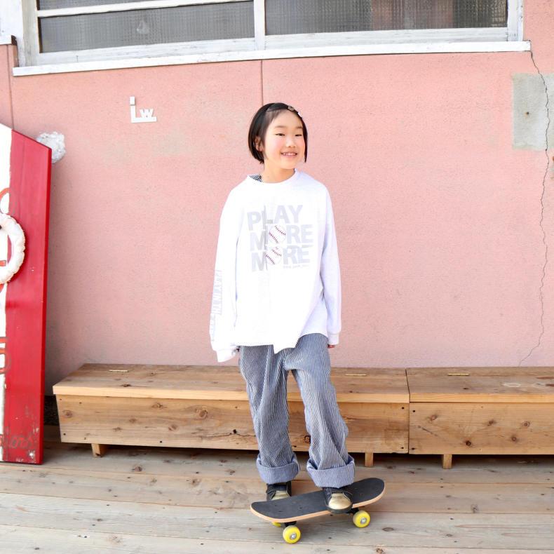 【THE PARK SHOP KIDS】PLAY MORE L/S  TEE_d0000298_16423747.jpg