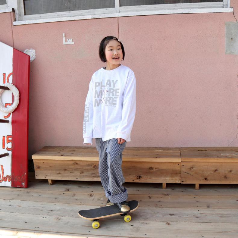 【THE PARK SHOP KIDS】PLAY MORE L/S  TEE_d0000298_16423865.jpg