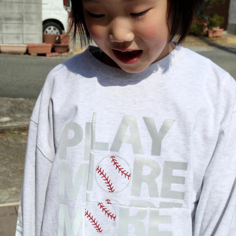 【THE PARK SHOP KIDS】PLAY MORE L/S  TEE_d0000298_16424047.jpg