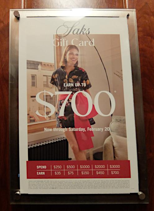 お洋服も展示方法も芸術的な、Saks Fifth Avenue本店5階_b0007805_04344579.jpg