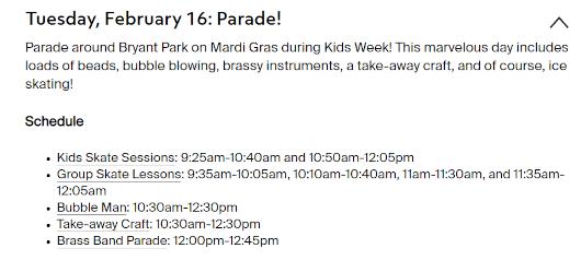 ブライアント・パーク・キッズ・ウィーク(Bryant Park Kids Week) 2021_b0007805_21580161.jpg