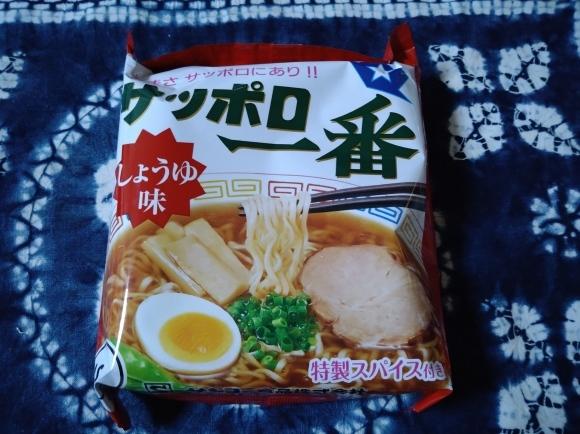 2/21 日本酒で作るサッポロ一番しょうゆ味@自宅_b0042308_22212373.jpg