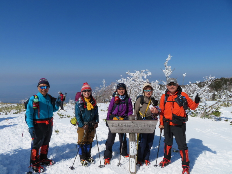 樹氷林を行く 南沢山 (1,564M)    横川山 編_d0170615_22592443.jpg