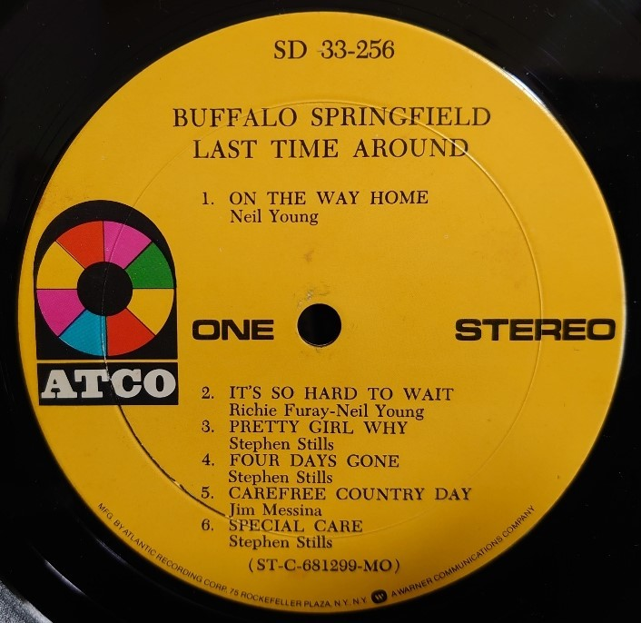 Buffalo Springfield 最終回 Last Time Around_d0335744_14534740.jpg