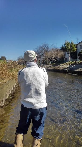 2/19(fry) 本日もお客様とキャスティング練習を黒目川で行いました。LtL横田征巳_e0202845_14581891.jpg