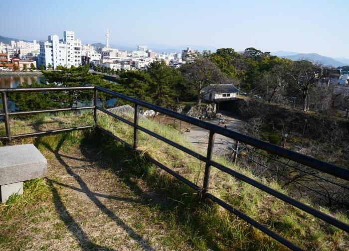 和歌山城松の丸櫓台  2021-02-21 00:00_b0093754_23022929.jpg