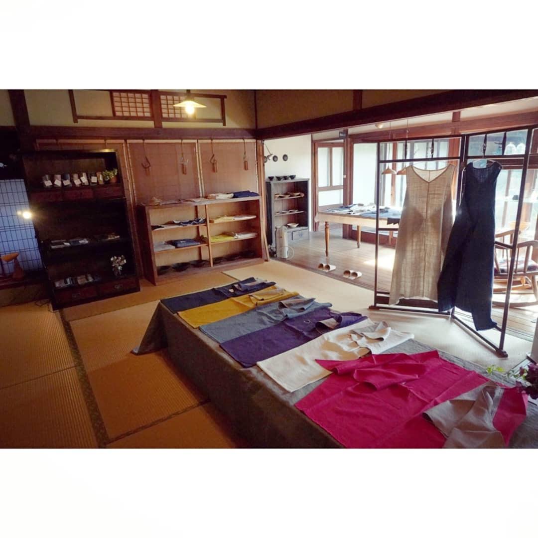 坂田真由美さんのまえかけ展始まりました_c0155980_11023660.jpg