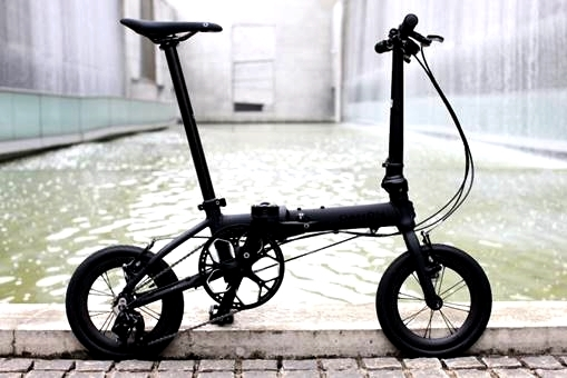 "DAHON K3 / Matte Black(14"" Carbon Wheel仕様)デリバリー決定!_e0154005_23134182.jpg"