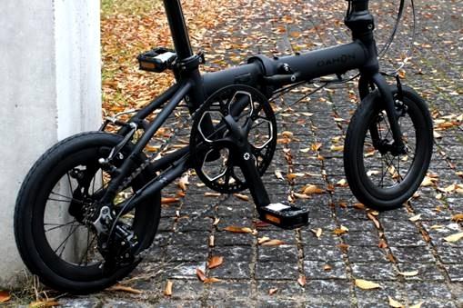 "DAHON K3 / Matte Black(14"" Carbon Wheel仕様)デリバリー決定!_e0154005_23170996.jpg"