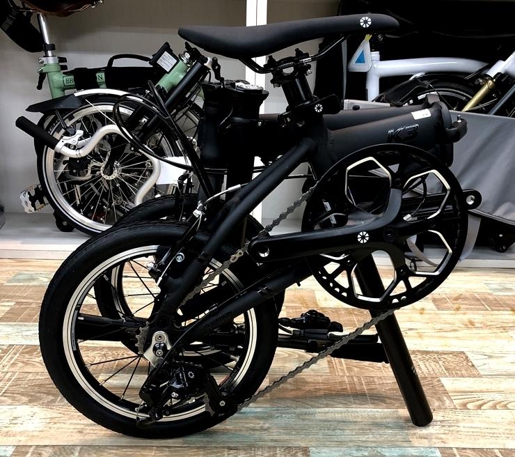 "DAHON K3 / Matte Black(14"" Carbon Wheel仕様)デリバリー決定!_e0154005_23224867.jpg"
