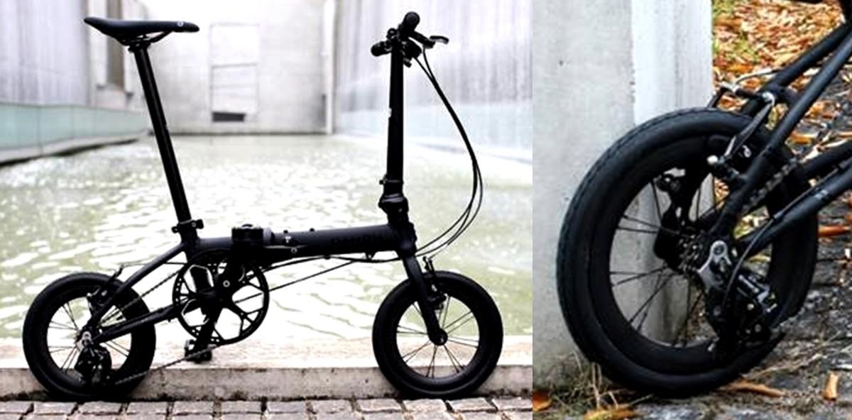 "DAHON K3 / Matte Black(14"" Carbon Wheel仕様)デリバリー決定!_e0154005_23280459.jpg"