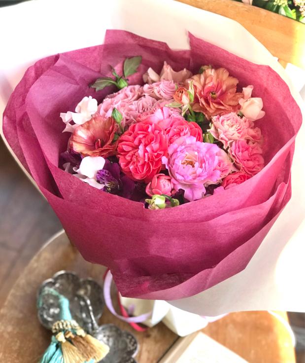 母の日の花箱(花束) 販売致します 〜Boîte à fleurs ボワット・ア・フルール_a0157813_14180466.jpg