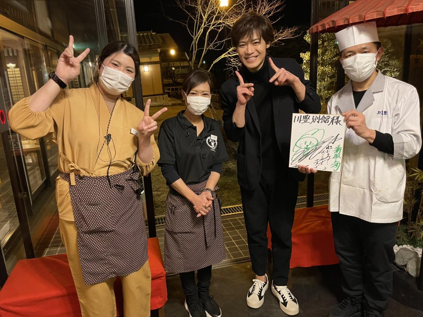 新浜レオン様ご来店!!(3月8日千葉テレビに川豊が!!)_a0217348_22103663.jpg