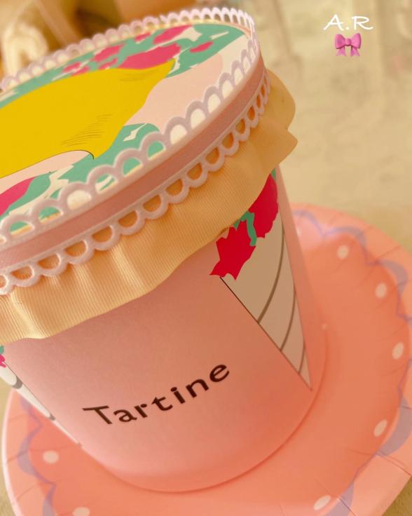 きのうお土産にいただいたTartineのお菓子の箱が可愛すぎる💖_f0017548_13582247.jpg