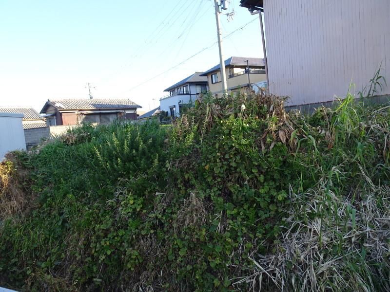 前の土手の草刈りの手伝い_c0108460_14102555.jpg