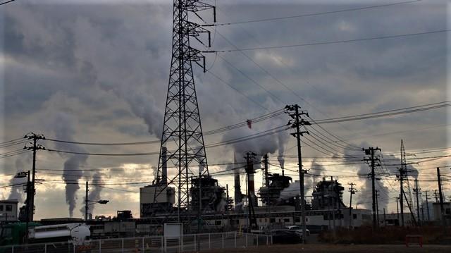 藤田八束の鉄道写真、石巻線に乗って仙台から石巻へ、日本製紙工場の迫力に元気をもらいました_d0181492_19452763.jpg