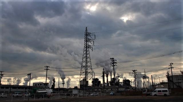 藤田八束の鉄道写真、石巻線に乗って仙台から石巻へ、日本製紙工場の迫力に元気をもらいました_d0181492_19454510.jpg