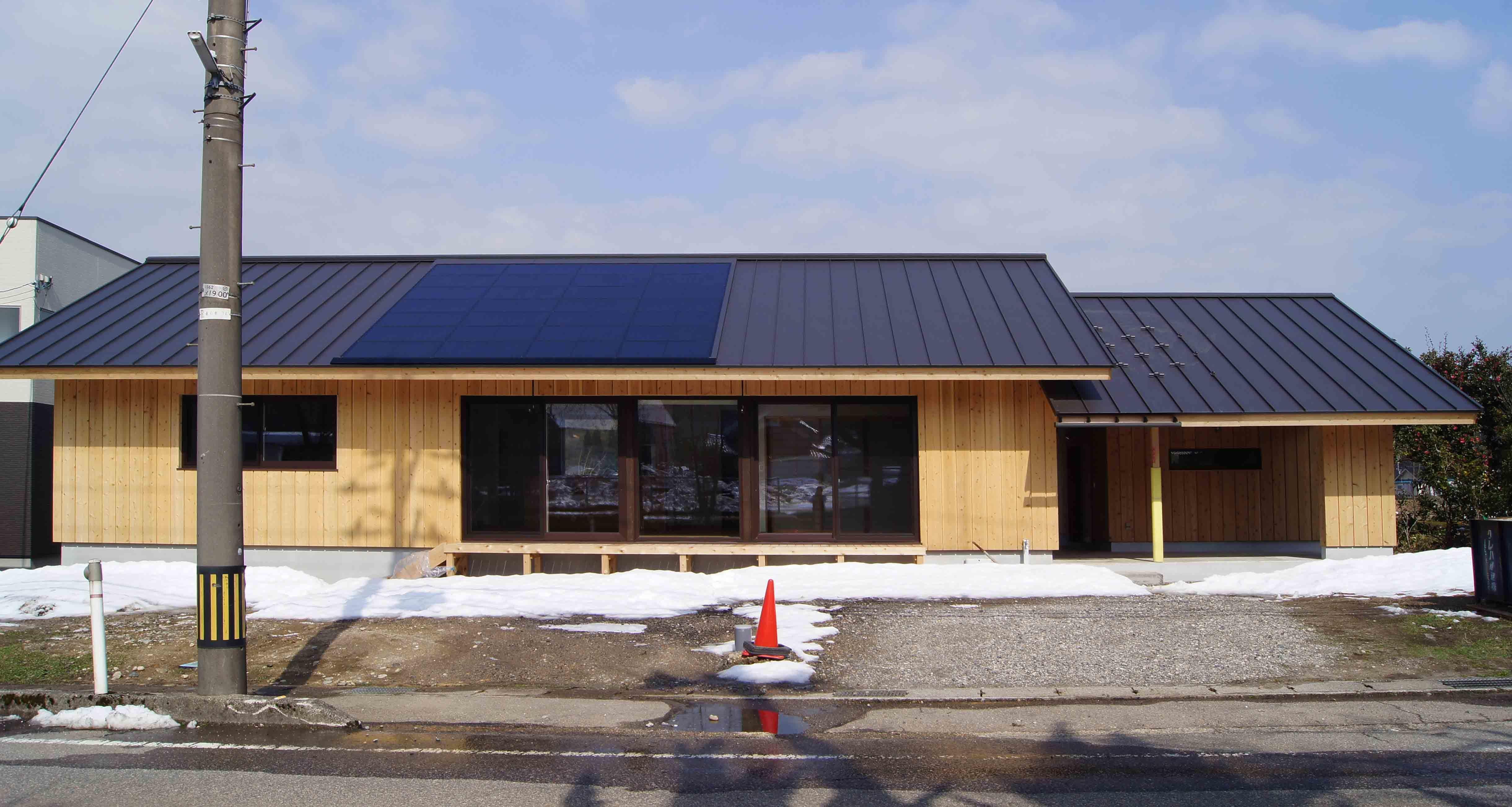 Q1住宅L3T3氷見:完成 - 家づくり西方設計