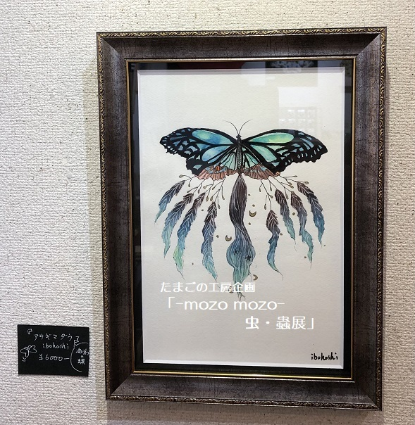 たまごの工房企画「-mozo mozo- 虫・蟲展」 その7_e0134502_16284214.jpg