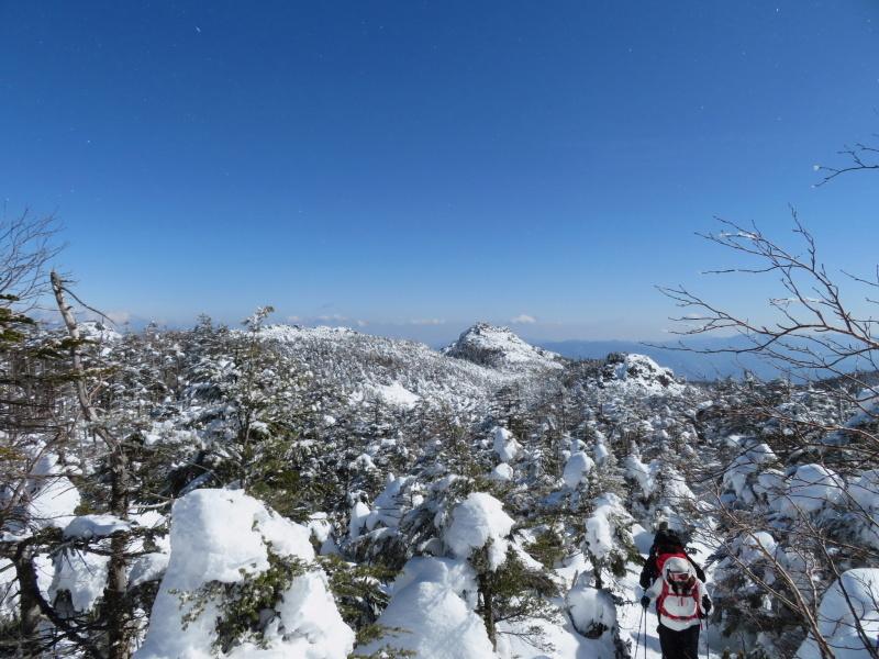 坪庭が美しい 北横岳 から  縞枯山 (2,403M) に向かう_d0170615_19505596.jpg