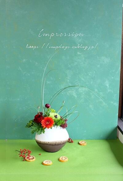 定期装花から ラナンキュラス:パトラス_a0085317_00020548.jpg