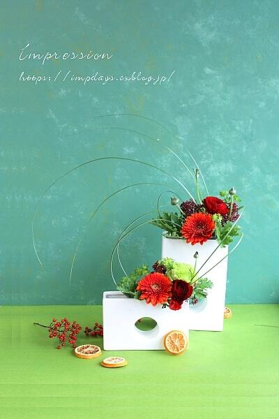 定期装花から ラナンキュラス:パトラス_a0085317_00021073.jpg