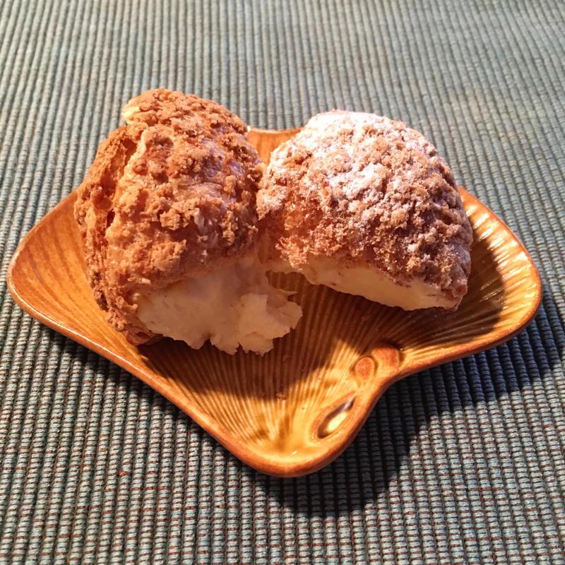 緑花亭の無上バターシュークリームが差し入れに良さそう_c0060143_18204230.jpg