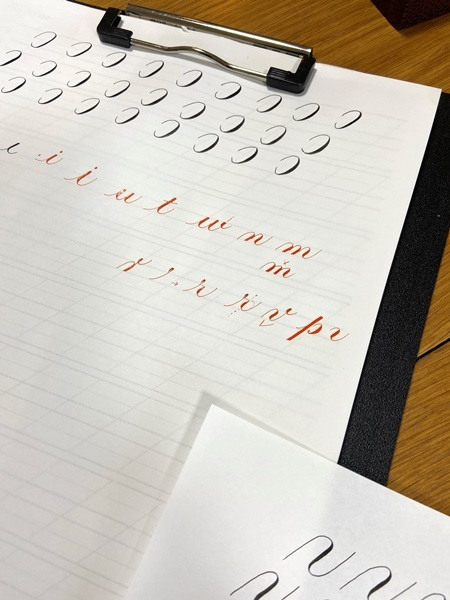 2/20,2/21カリグラフィーレッスン レッスン3年目へ「風の家」が屋号に⁉⁉_b0165872_17361380.jpeg