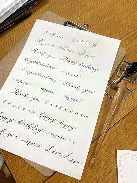 2/20,2/21カリグラフィーレッスン レッスン3年目へ「風の家」が屋号に⁉⁉_b0165872_17361687.jpeg