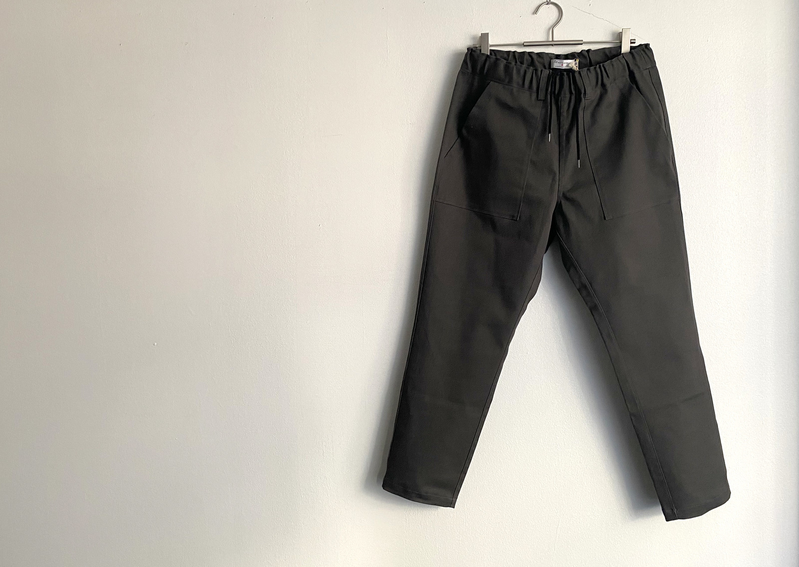 Cotton Drill Easy Slacks_c0379477_09564888.jpg