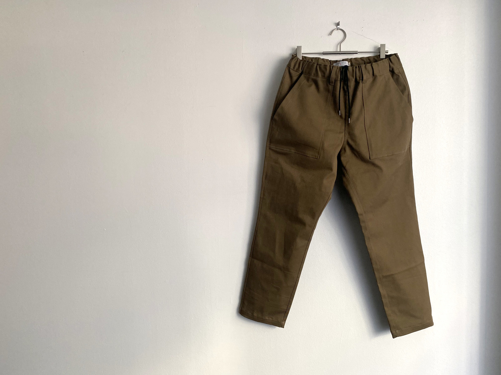 Cotton Drill Easy Slacks_c0379477_09572873.jpg