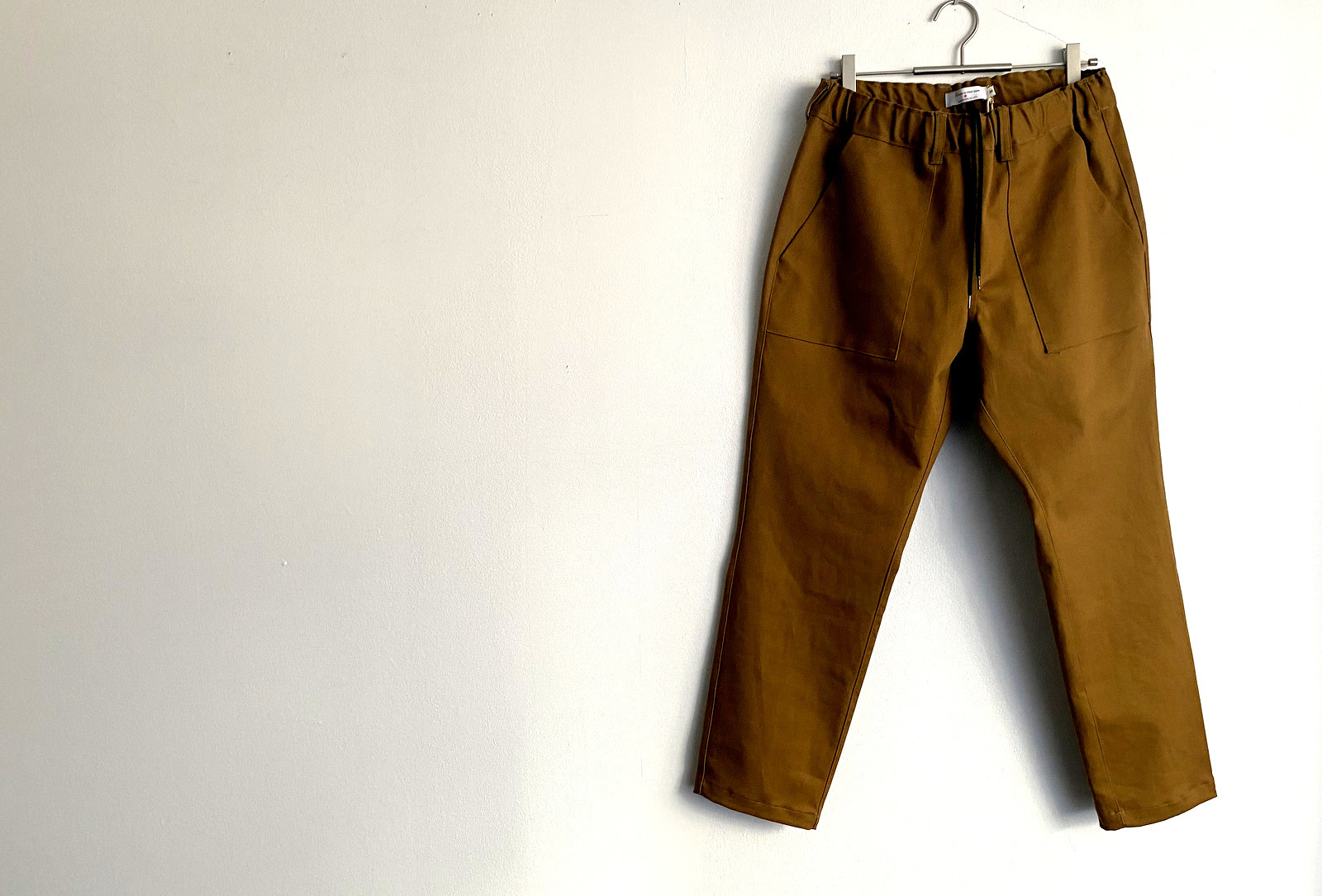 Cotton Drill Easy Slacks_c0379477_10005225.jpg