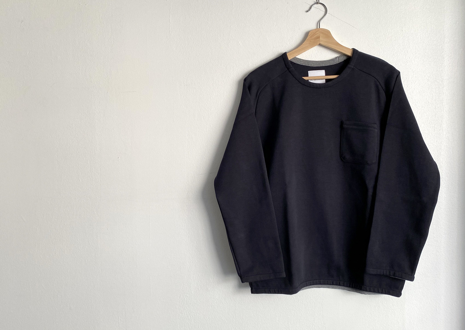 Cotton Jersey Pocket Pull Over_c0379477_13485382.jpg