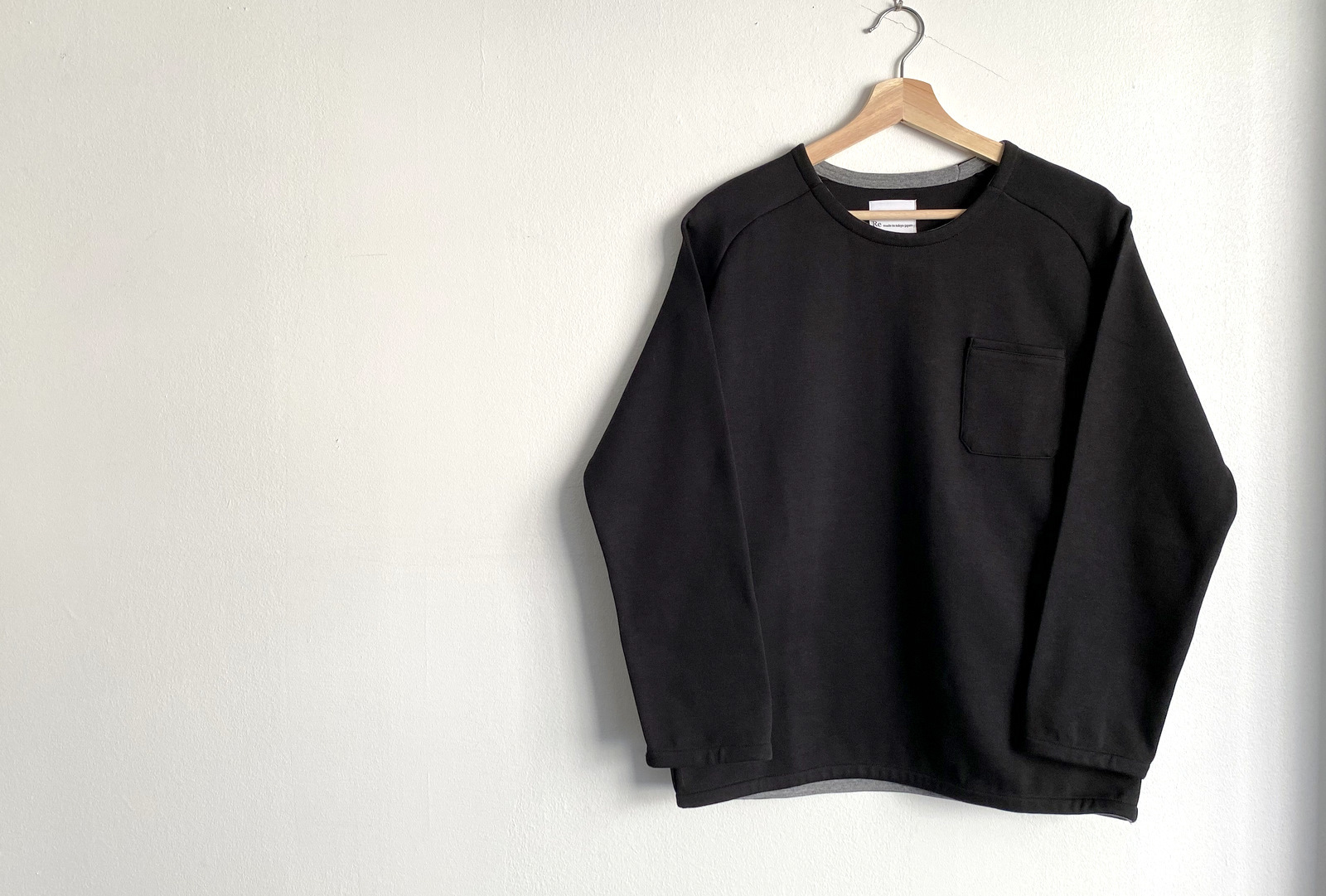 Cotton Jersey Pocket Pull Over_c0379477_13490482.jpg
