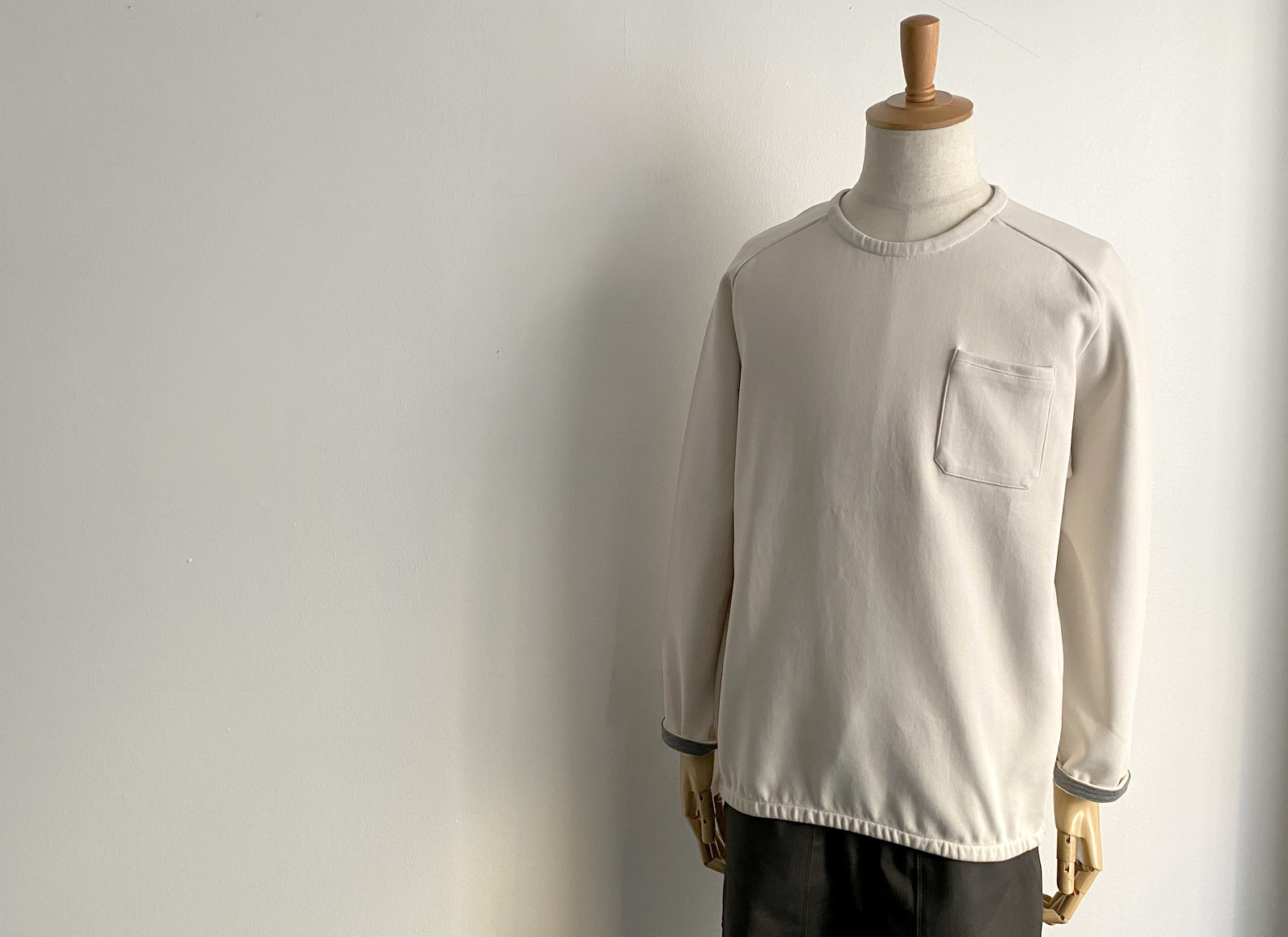 Cotton Jersey Pocket Pull Over_c0379477_13540343.jpg