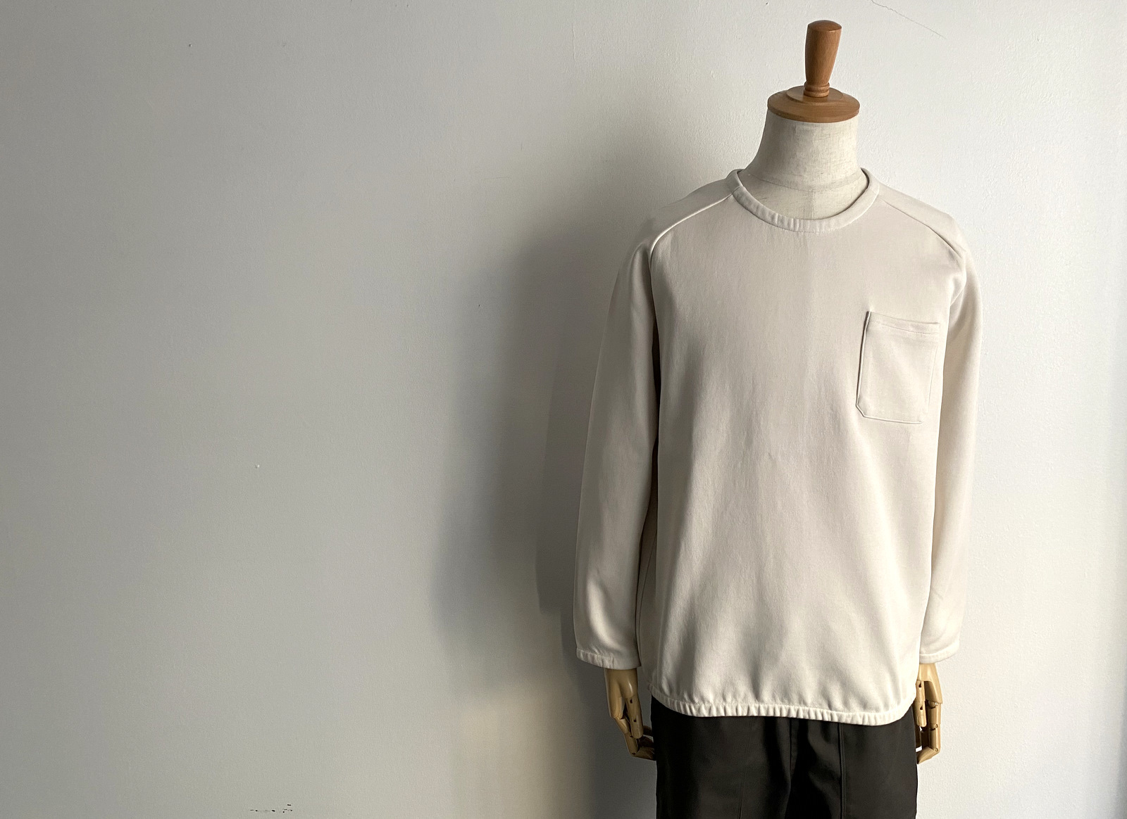 Cotton Jersey Pocket Pull Over_c0379477_13542060.jpg